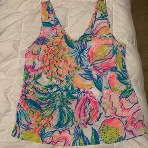 Lilly Pulitzer tank sz large. Excellent condition
